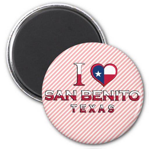 San Benito, Texas Refrigerator Magnets