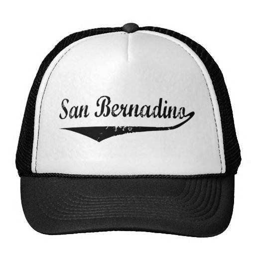 San Bernadino Mesh Hats