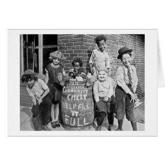 San Bernardino Community Chest - Vintage Greeting Card