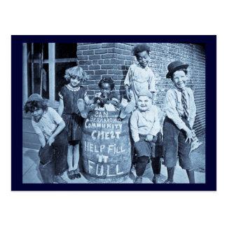 San Bernardino Community Chest - Vintage Postcard
