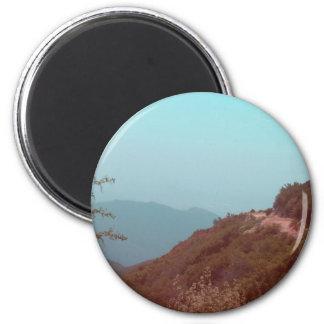 San Bernardino Mountains 2 Inch Round Magnet