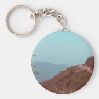 San Bernardino Mountains Keychain