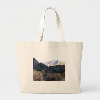 San Bernardino Mountains Large Tote Bag