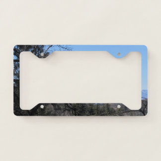 San Bernardino Mountains License Plate Frame