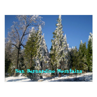 San Bernardino Mountains Post Cards