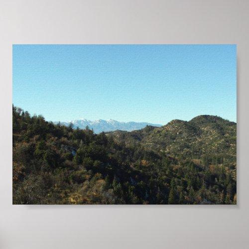 San Bernardino Mountains print