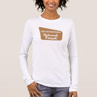 San Bernardino National Forest (Sign) Long Sleeve T-Shirt
