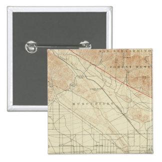 San Bernardino quadrangle showing San Andreas Rift Pin