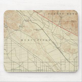 San Bernardino quadrangle showing San Andreas Rift Mouse Pad