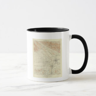 San Bernardino quadrangle showing San Andreas Rift Mug