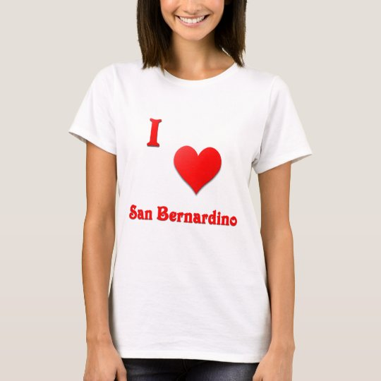 San Bernardino -- Red T-Shirt