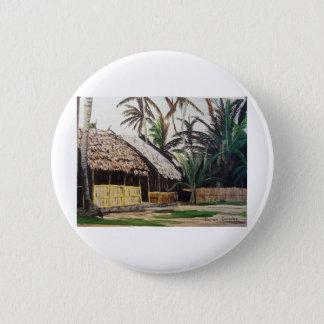 San Blas Islands, Panama WaterColor Pinback Button