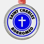 San Carlos Borromeo Ornamento Para Arbol De Navidad