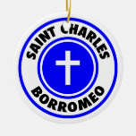 San Carlos Borromeo Ornaments Para Arbol De Navidad