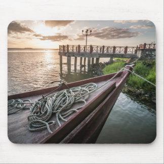 San Carlos Dock Mouse Pad