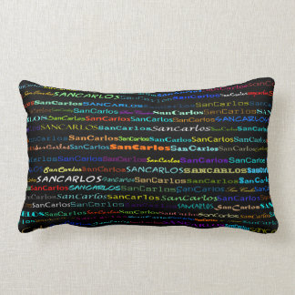 San Carlos Text Design I Lumbar Pillow