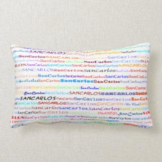 San Carlos Text Design II Lumbar Pillow