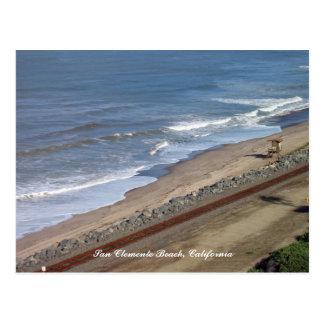 San Clemente Beach Postcard