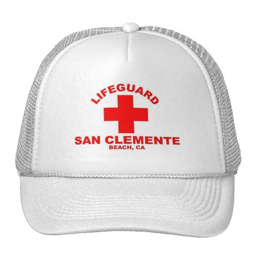 San Clemente Beach Trucker Hat