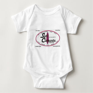 San Clemente - 'Been There--Surfed That' Baby Bodysuit