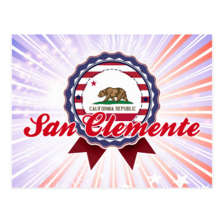 San Clemente, CA Postcard