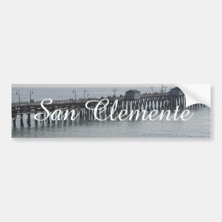 San Clemente California Bumper Sticker