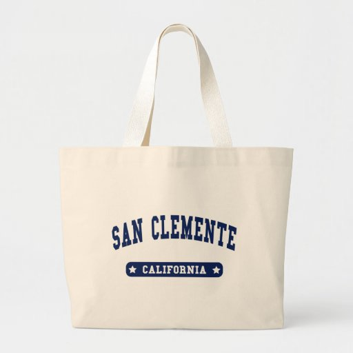 San Clemente California College Style tee shirts Bags