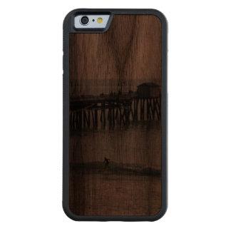 San Clemente California Funda De iPhone 6 Bumper Nogal