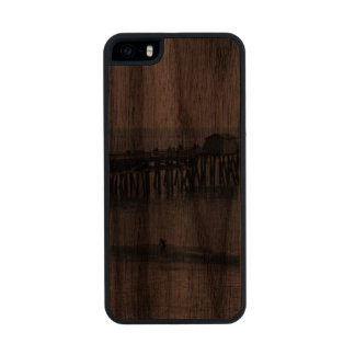 San Clemente California Funda De Nogal Carved® Para iPhone 5