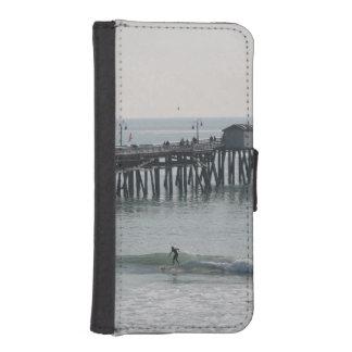 San Clemente California Funda Tipo Billetera Para iPhone 5