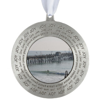 San Clemente California Round Ornament