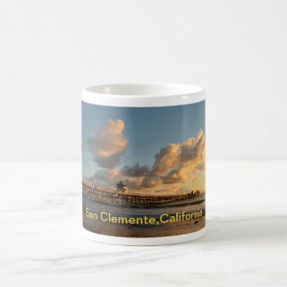 San Clemente California Pier Coffee Mug