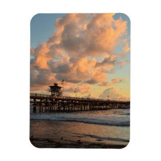 San Clemente California Pier Magnet
