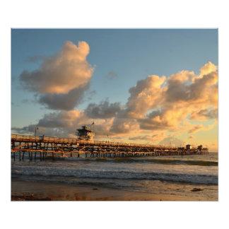 San Clemente California Pier Photo Print