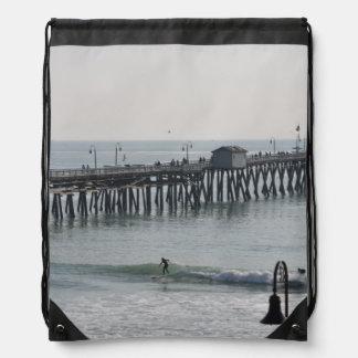 San Clemente California Drawstring Bags