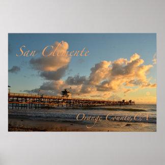 San Clemente California Poster