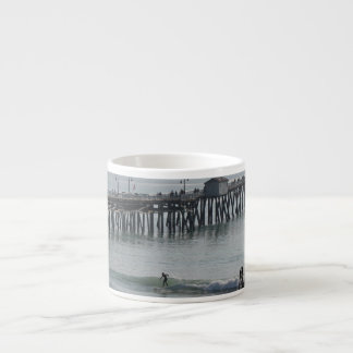 San Clemente California 6 Oz Ceramic Espresso Cup