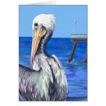 San Clemente Pelican Stationery Note Card
