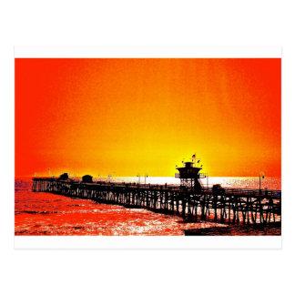 San Clemente Pier, California Postcard