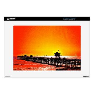 San Clemente Pier, California Laptop Skins