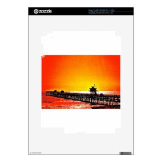 San Clemente Pier, California iPad 2 Skins