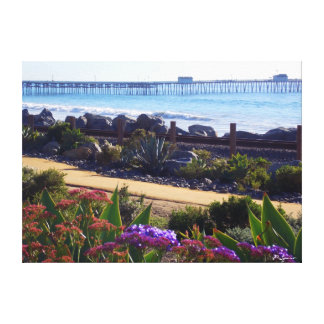 San Clemente Pier Gallery Wrapped Canvas