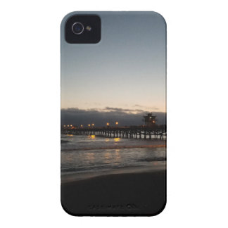 san clemente pier night time ocean california iPhone 4 cover