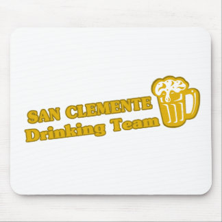 San Clemente que bebe las camisetas del equipo Tapete De Ratones