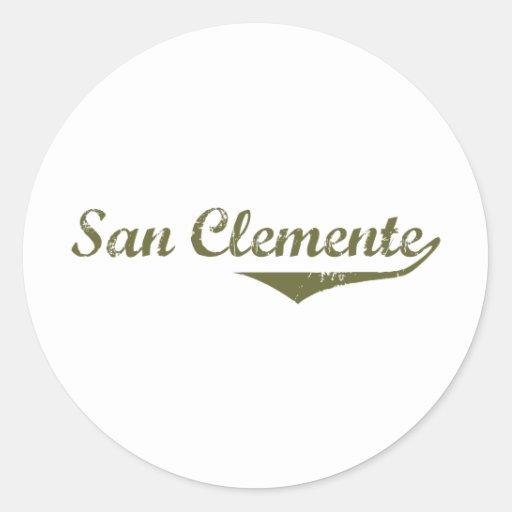 San Clemente  Revolution t shirts Sticker