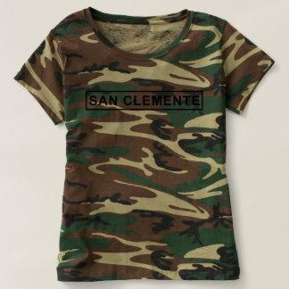 San Clemente Sign Camo Shirt