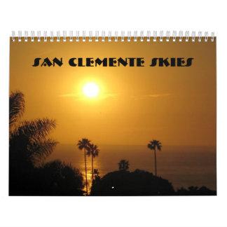 San Clemente Skies Calendar