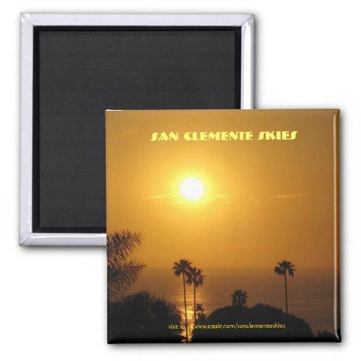 San Clemente Skies - Magnet