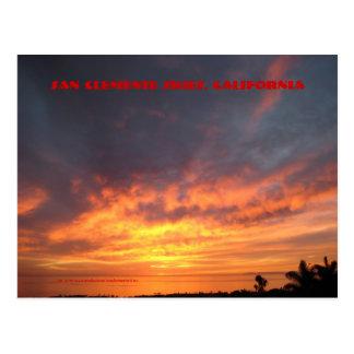 San Clemente Skies - Post Card