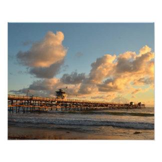 San Clemente Sunset Photographic Print